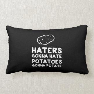 Enemigos que van a odiar las patatas que van a cojín