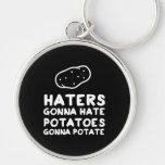 Enemigos que van a odiar las patatas que van a Pot Llavero