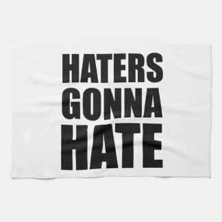 Enemigos que van a odiar toallas de mano