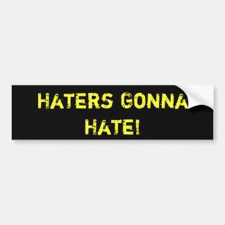 ¡Enemigos que van a odiar!  PEGATINA PARA EL PARAC Pegatina Para Auto