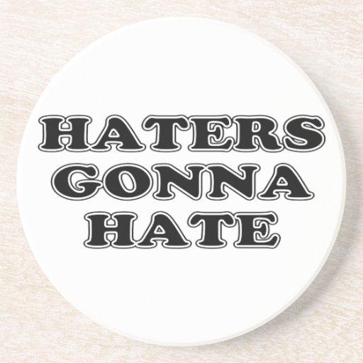 Enemigos que van a odiar posavasos personalizados