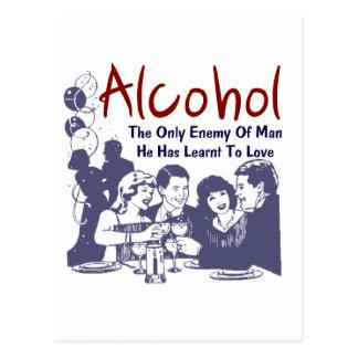 Enemy Alkohol Postcard