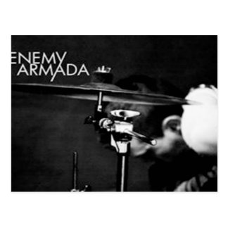 Enemy Armada Post Card - David Henry Black