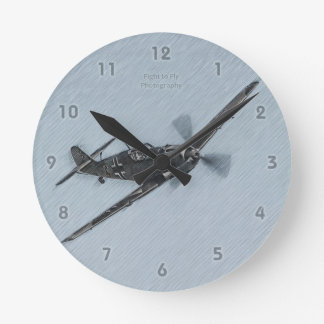 Enemy Fighter Clock