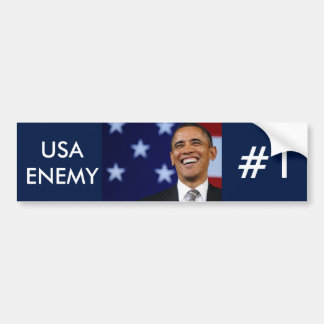 enemy of america bumper stickers