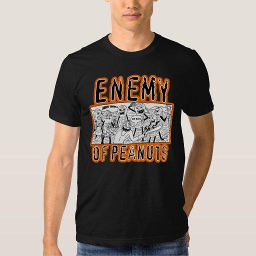 Enemy of Peanuts Panel T-Shirt