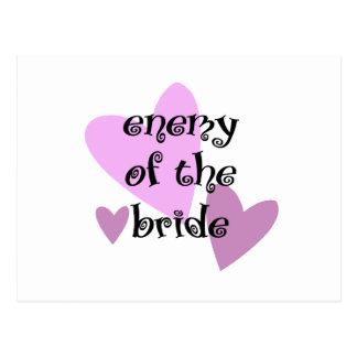 Enemy of the Bride Postcard
