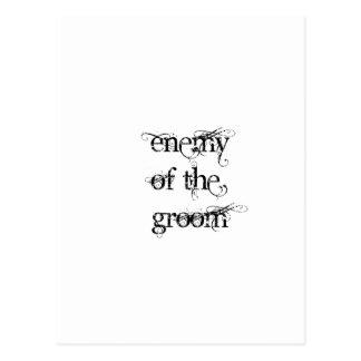 Enemy of the Groom Postcard