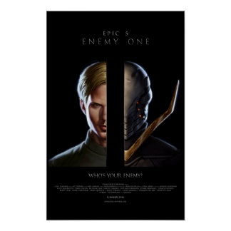 """Enemy One """"Arch Nemesis"""" Promo Poster"""