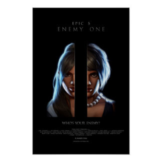 """Enemy One """"Poly-Esther"""" Promo Poster"""
