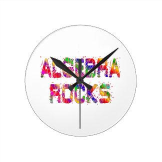 Energetic Algebra Rocks Round Clock