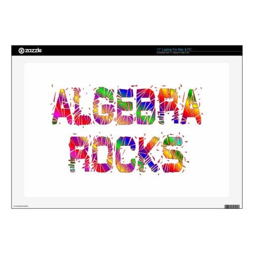 Energetic Algebra Rocks Laptop Skin