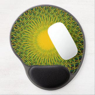 Energetic Bends Blck Gel Mouse Mats