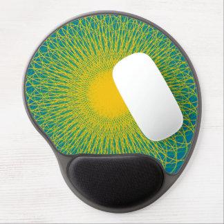 Energetic Bends Blue Gel Mousepads