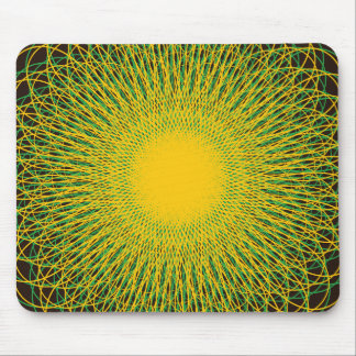 Energetic Bends Browns Mouse Pad