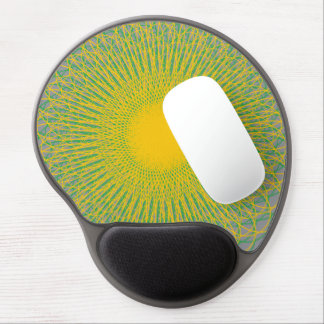 Energetic Bends Grey Gel Mouse Mats