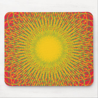 Energetic Bends Reds Mousepads