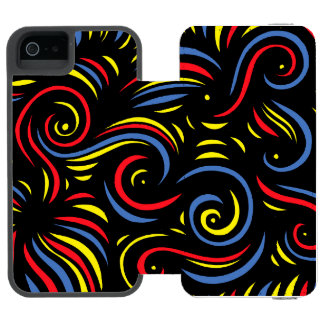 Energetic Bounty Amicable Valued Wallet Case For iPhone SE/5/5s