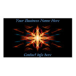 Energetic Geometry- Fire Element Business Card