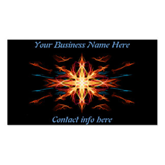 Energetic Geometry- Fire Element Double-Sided Standard Business Cards (Pack Of 100)