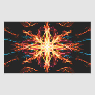 Energetic Geometry- Fire Element Stickers