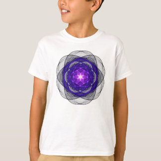 Energetic Geometry - Indigo Prayers T-Shirt