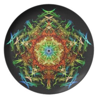 Energetic Geometry- Multidimensional Power Star Plate