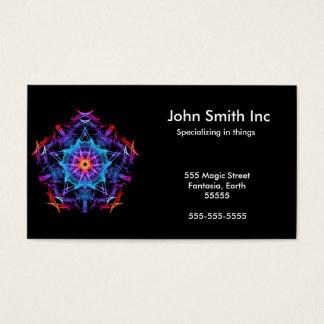 Energetic Geometry - The Magi's Wish Business Card