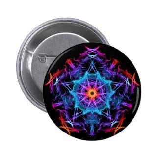 Energetic Geometry - The Magi's Wish Pinback Button