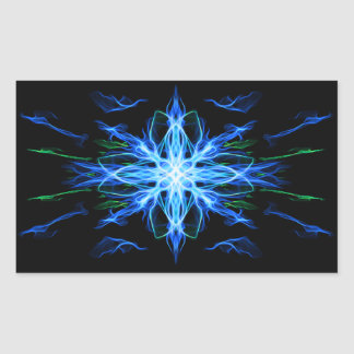 Energetic Geometry- Water Element - abstract Sticker