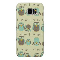 Energetic Owls Samsung Galaxy S6 Case