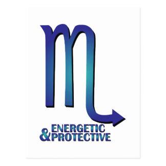 Energetic & Protective Postcard