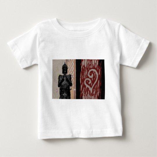 Energetic Robot Baby T-Shirt