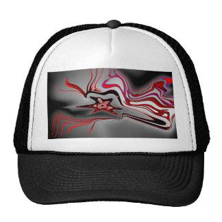 energetic star design trucker hat