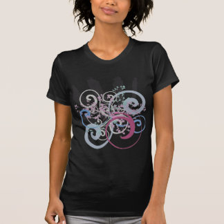 Energetic Swirls with Plants Shirts