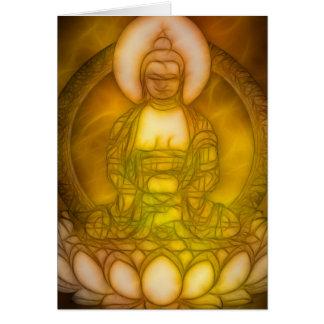 Energía 1 de Buda Tarjeta De Felicitación
