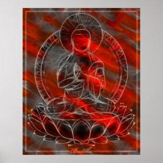 Energía 2 de Buda Póster
