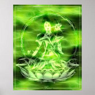 Energía 5 Tara de Buda Posters