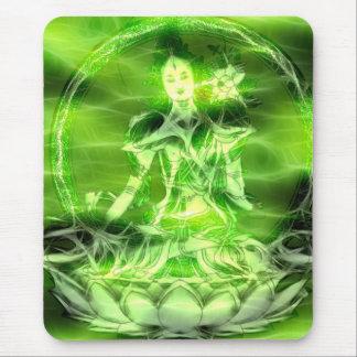 Energía 5 Tara de Buda Alfombrilla De Ratón