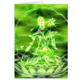 Energía 5 Tara de Buda Felicitaciones