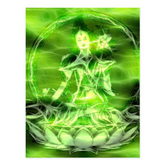 Energía 5 Tara de Buda Postal