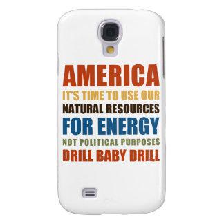 Energía americana funda para galaxy s4