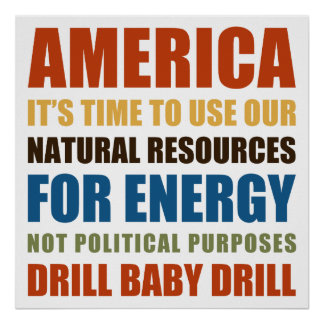 Energía americana poster