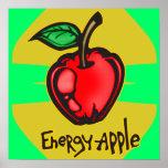 Energía Apple Posters