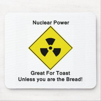 Energía atómica anti tapetes de ratón