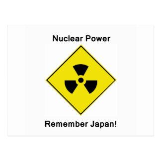 Energía atómica anti postal