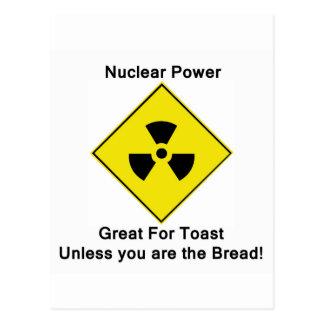 Energía atómica anti tarjetas postales