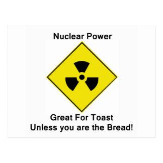 Energía atómica anti postales