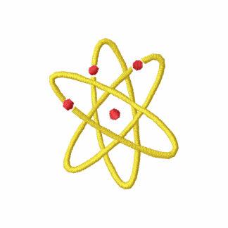 Energía atómica camiseta polo bordada