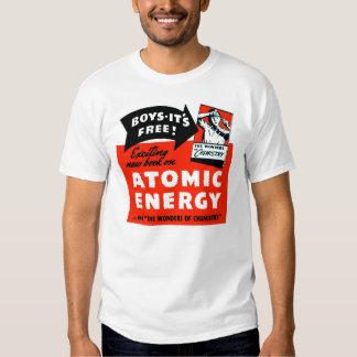 ¡Energía atómica del vintage del kitsch para los Poleras